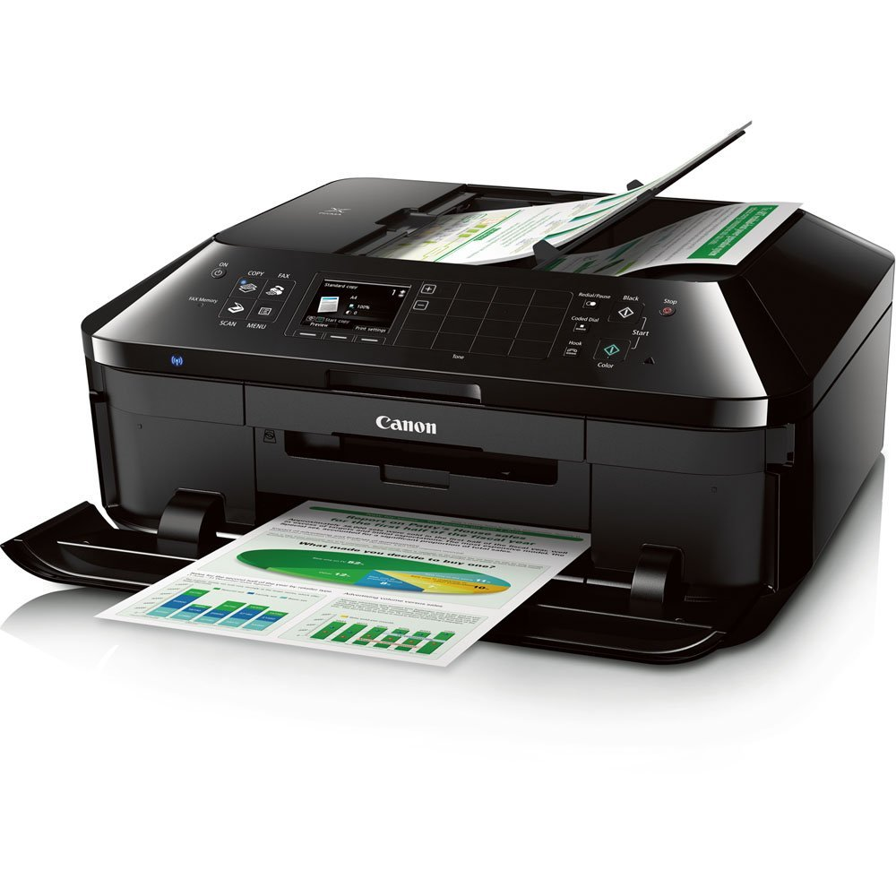Canon PIXMA MX922 Wireless Color Photo Printer with Scanner, Copier and Fax Review