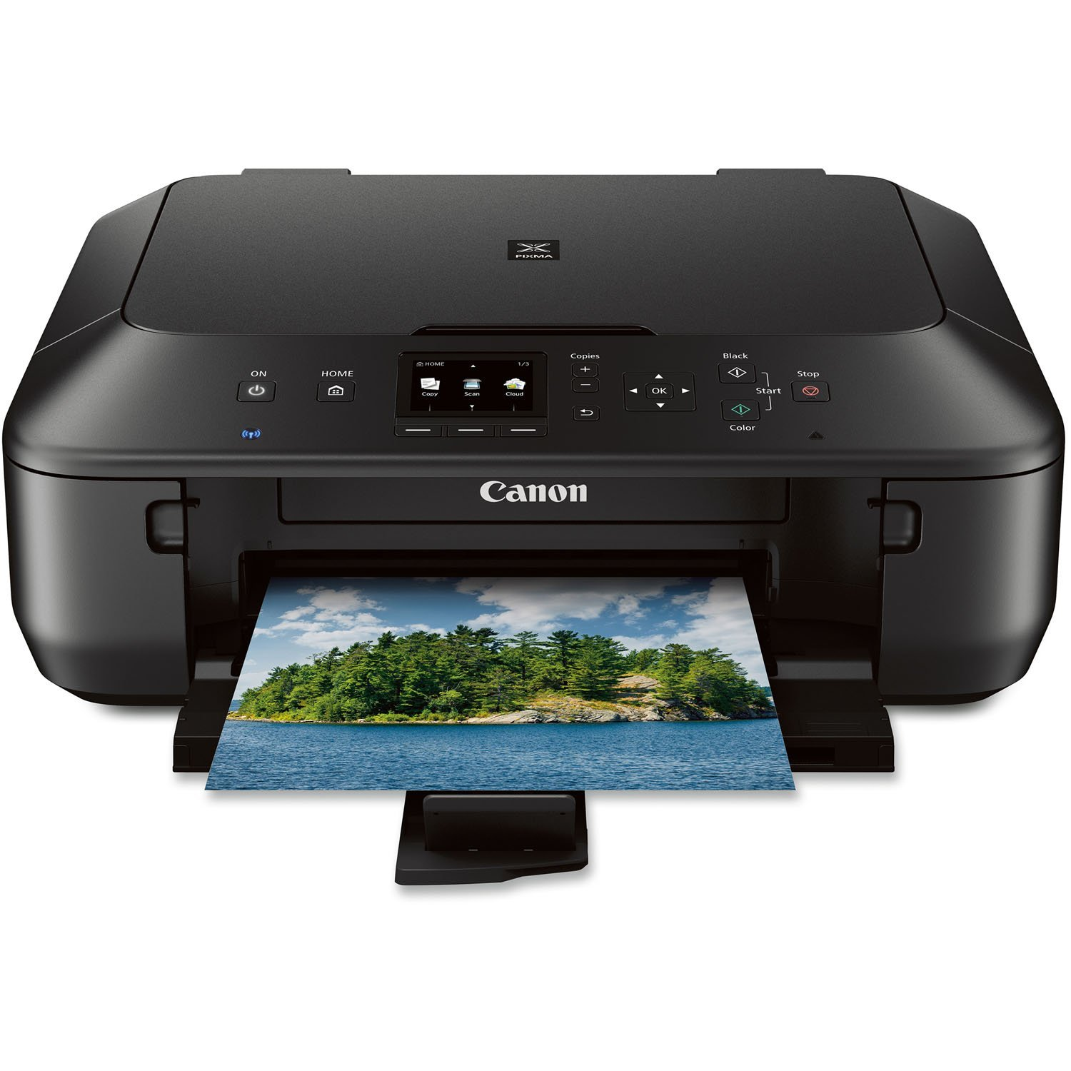Canon PIXMA MG5520 Wireless All-In-One Color Photo Printer with Scanner, Copier and Auto Duplex Printing